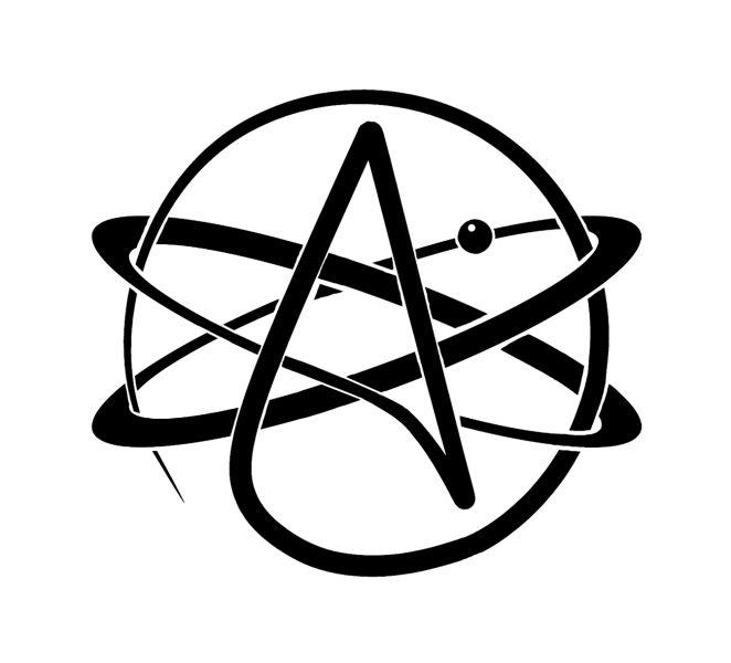 An atheism symbol
