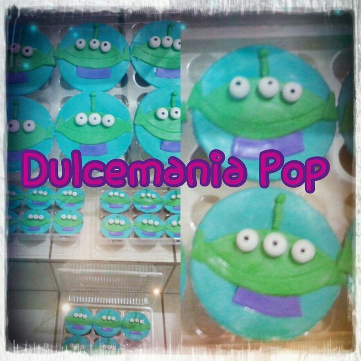 Cupcakes Marcianito Toy Story