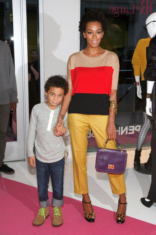 "Solange and Son Wedding Dance - Solange Knowles and Son Daniel Julez Dance to ""No Flex Zone"" - Harper's BAZAAR Magazine"
