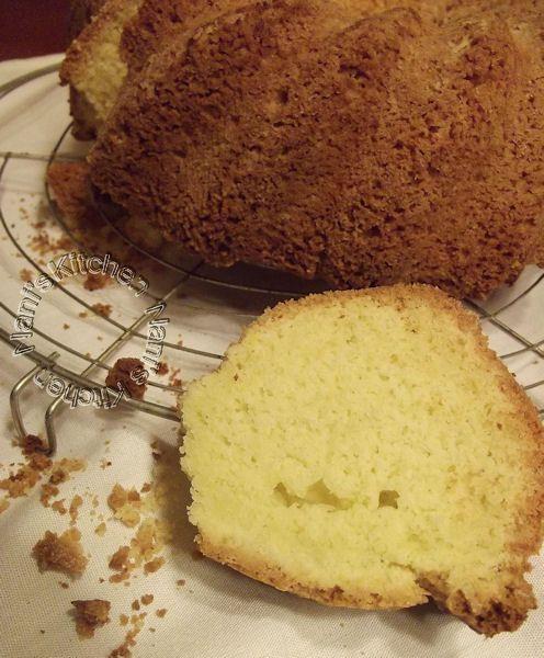 babka, gâteau de Pâques Polonais