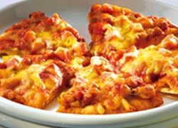 Mexican Bean Pizza recipe from Food in a Minute