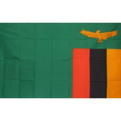 NeoPlex Zambia Country Traditional Flag