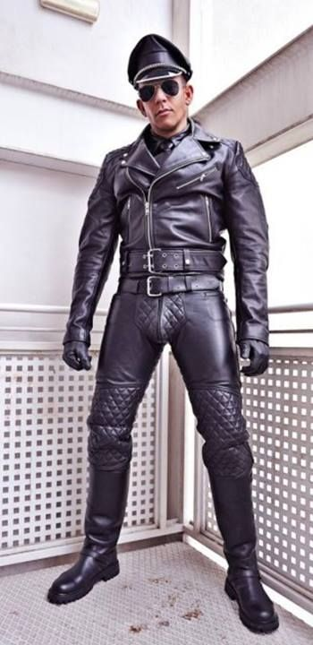 Boot cock gay leather levi story