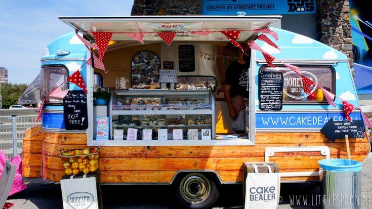 Cake Dealer, taart vanuit de leukste caravan ever - Little Spoon
