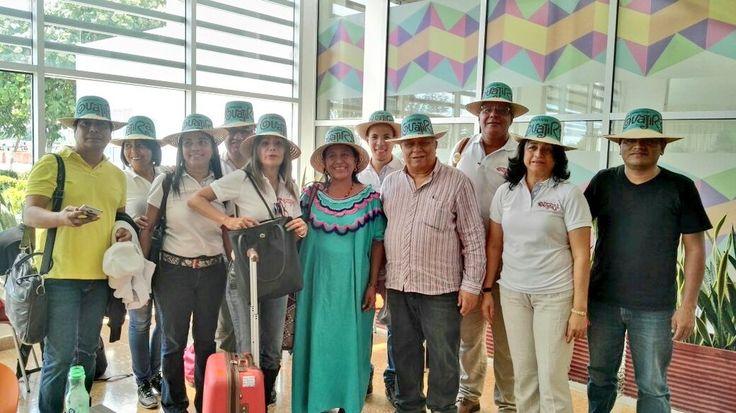 *En representación del departamento de La Guajira viajaron nueve empresarios que ofertan sus servicios en el sector turístico. *El evento se...
