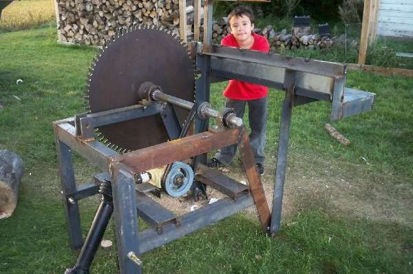 Cordwood Saw or Buzz Saw project -- Tractor Implements -- Page 1