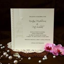 Svatební oznámení W561