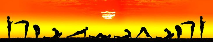 Surya Namaskar:Worshiping the Sun The Sanskrit name Suryarefers to the Sun and Namaskar means salutation. The sun provides life force to the whole creation andsymbolizes spiritual consciousness. It has been