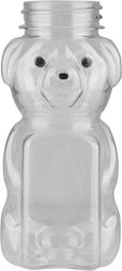 5 OZ 38MM PET HONEY BEAR BOTTLE   The honey bear bottle is a fun packaging option for honey, syrups, and other products with similar viscosity. ALSO AVAILABLE IN 8 OZ, 12 OZ, and 24 OZ. #plastic #bottle #honey #bear #clear