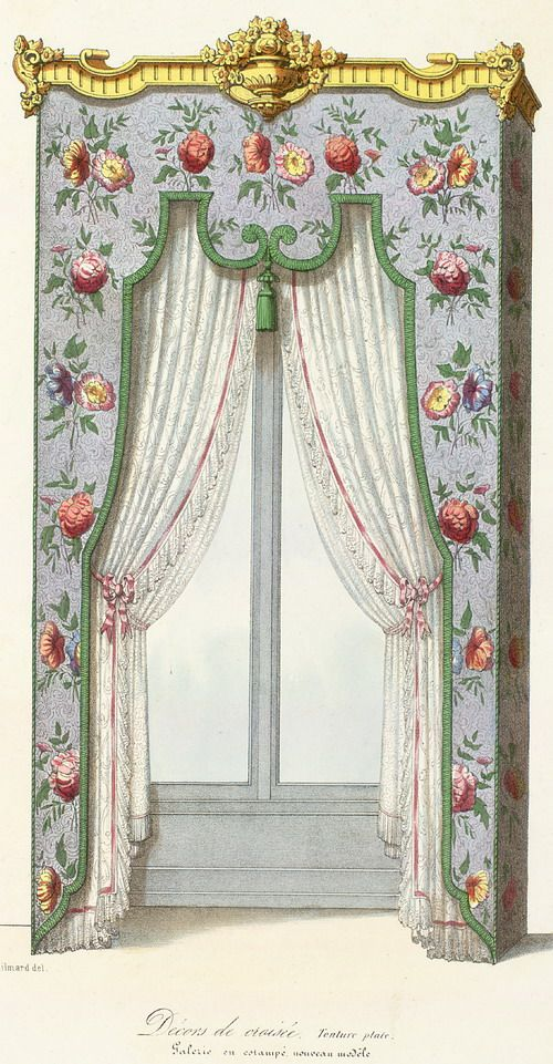 17 Best Images About Victorian Curtains On Pinterest