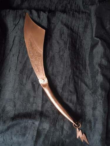 Espada De Iansã - Alforge De Iansã - Orixás - R$ 170,00