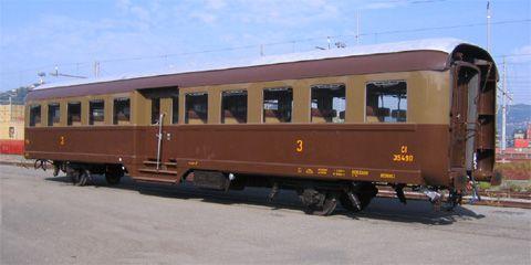"""Carrozza """"Corbellini"""" Tipo 1947"""