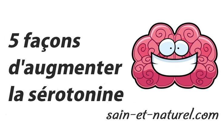 Sérotonine : La sérotonine agit comme un neurotransmetteur, un signal chimique (hormonal), qui aide à relayer les signaux d'une aire du cerveau à