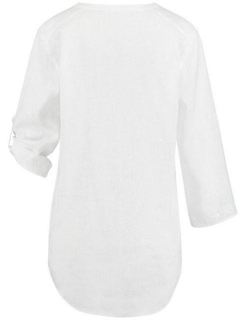 Bluse 3/4 Arm »Hemd aus reinem Leinen«