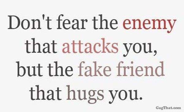 Fake Friendship Quotes | Fake Friend Quote » GagThat