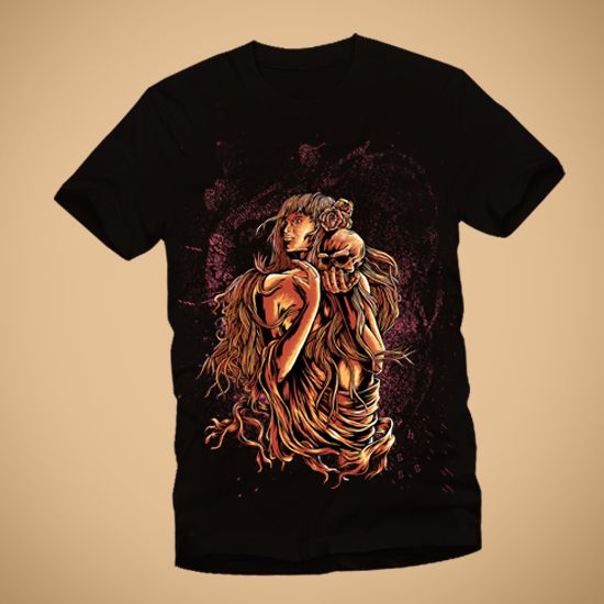 Girl Skull by Mouseroom http://tees.co.id/products/detail/752/