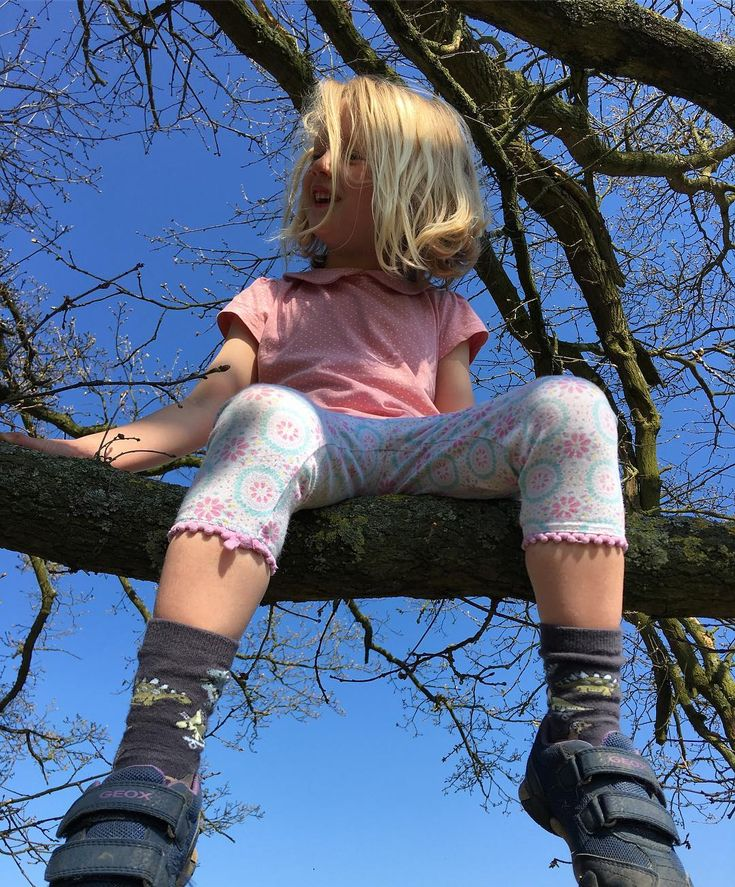 It's a fine day for clambering in trees...
