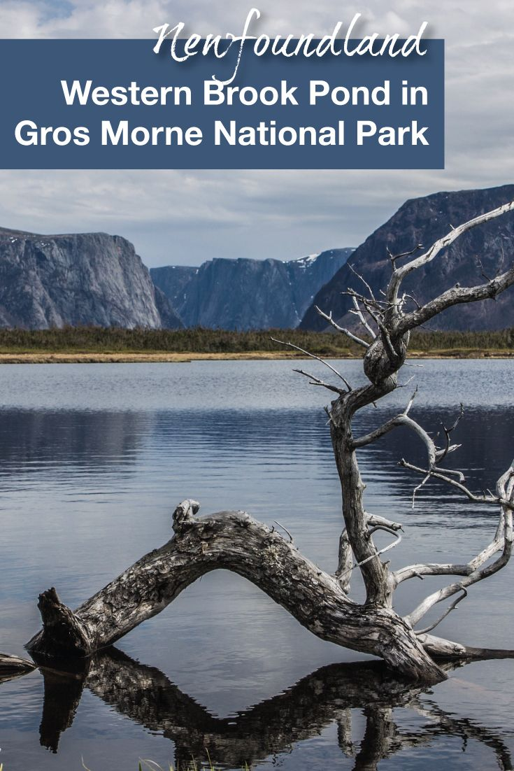 Western Brook Pond is one of the must-see areas of Gros Morne National Park in Newfoundland, Canada.