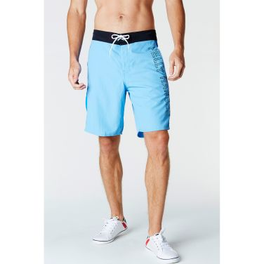 HH Logo Shorts.  Classic quick-dry swimming trunks for men with a large Helly Hansen logo. One of our best-selling swimming trunks. These colorful shorts feature a drawstring waist for easy entry and adjustment, and a handy back pocket for your keys and other essentials.