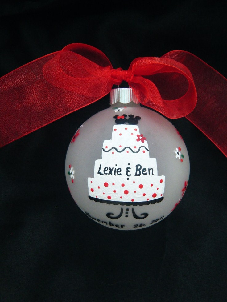 17 Best Ideas About Wedding Ornament On Pinterest Wedding Christmas Ornamen
