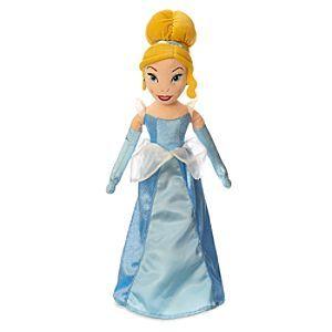 Prezzi e Sconti: #Bambola di peluche cenerentola  ad Euro 27.99 in #Disneystore #Prodotti giocattoli bambole