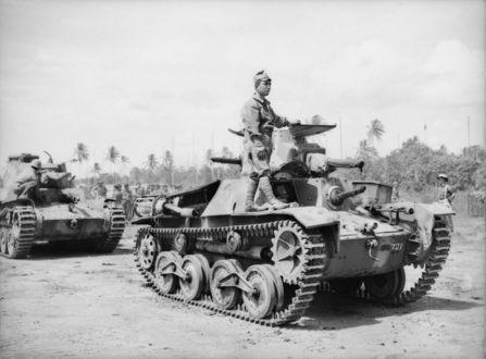 Japanese Type 95 Ha-Go light tanks - 26.8KB