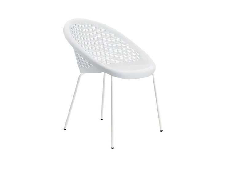 Krzesło Bon Bon białe — Krzesła Machina Meble — sfmeble.pl