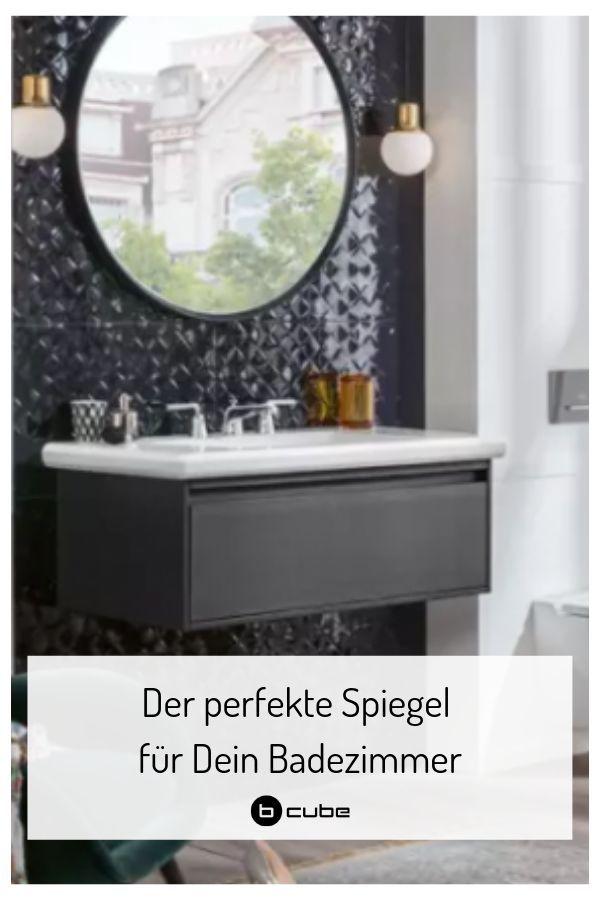 Immer Ein Hingucker Der Spiegel Im Badezimmer Badezimmer Runde