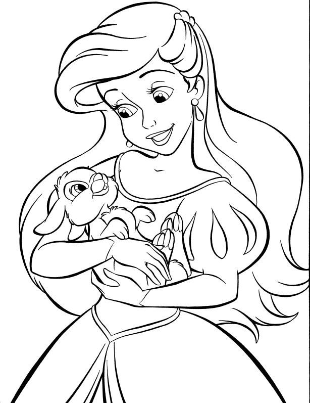 Cute Baby Princess Ariel Coloring Pages Ariel Coloring Pages Mermaid Coloring Pages Disney Princess Coloring Pages