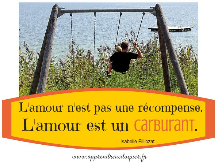 l'amour est un carburant citation isabelle filliozat