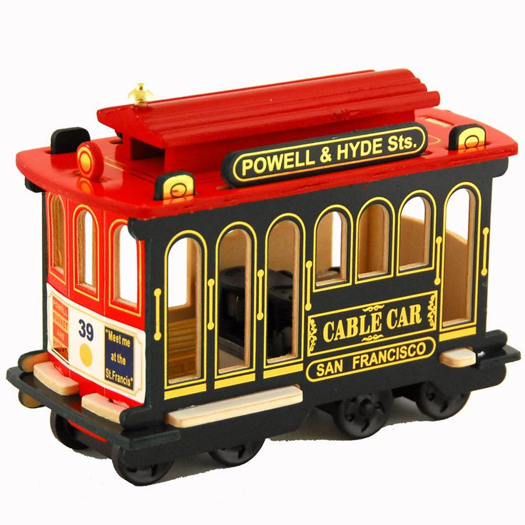 NYCwebStore.com - Musical San Francisco Cable Car Replica, $16.99 (http://www.nycwebstore.com/musical-san-francisco-cable-car-replica/)