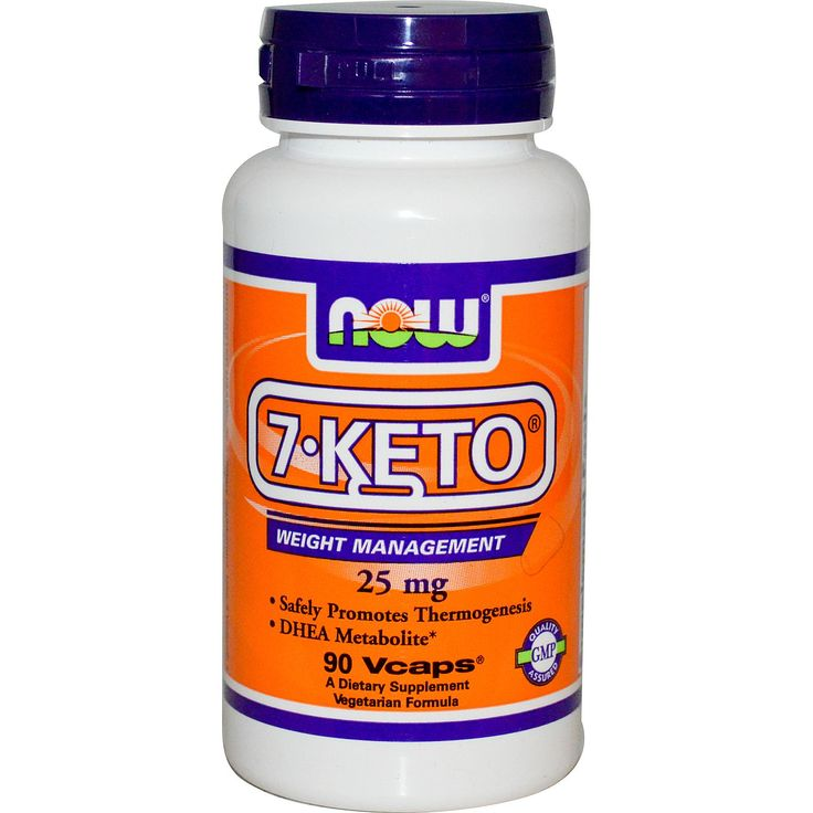 Now Foods, 7-KETO, 25 mg, 90 Vcaps