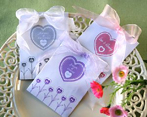 Wedding Gift Ideas. Flower seeds.