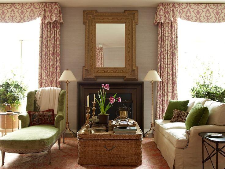 Lovely Living Room By Designer Charlotte Moss Via Color Outside The Lines