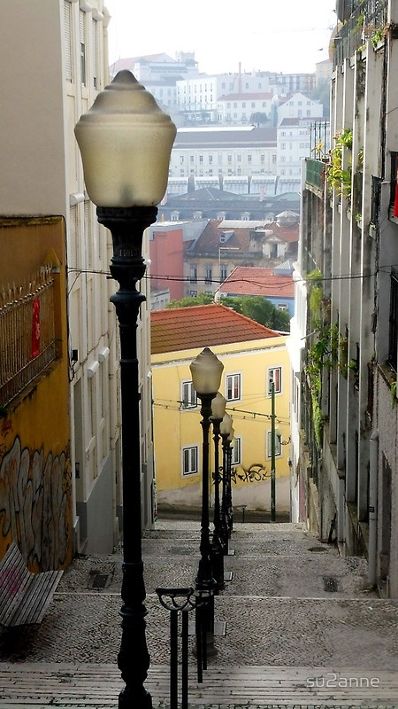 Stairs to #Lisbon (Unknown)