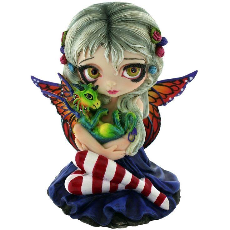 Figurine Fée Jasmine Beckett-Griffith Darling Dragonling - Boutique Fées et Féerie Legendya