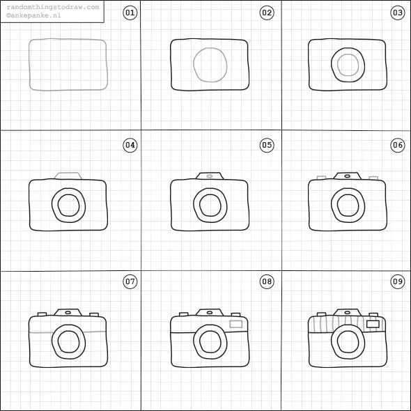 How to draw a camera doodles pinterest cameras doodles and bullet journals