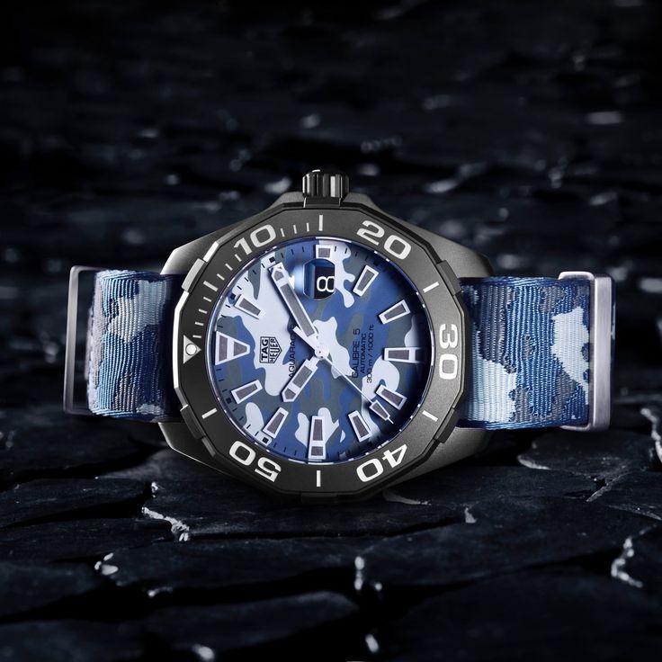 TAG Heuer Aquaracer CAMO calibre 5 new 2017