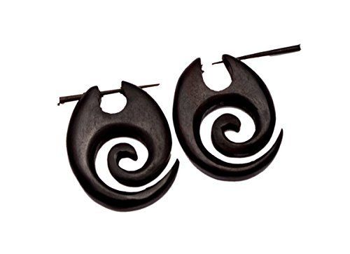A Pair of Coco Wood Wooden Ebony Cocnut Boho Hippie Earrings Sew_719 Krishna Mart India http://www.amazon.com/dp/B016DHQXQI/ref=cm_sw_r_pi_dp_1R.xwb1YZ8ED6