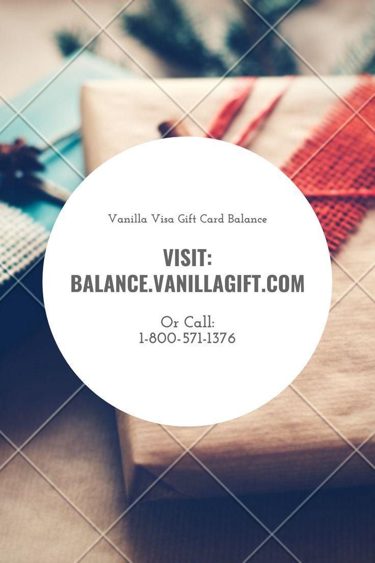 Check vanilla visa gift card balance visa gift card