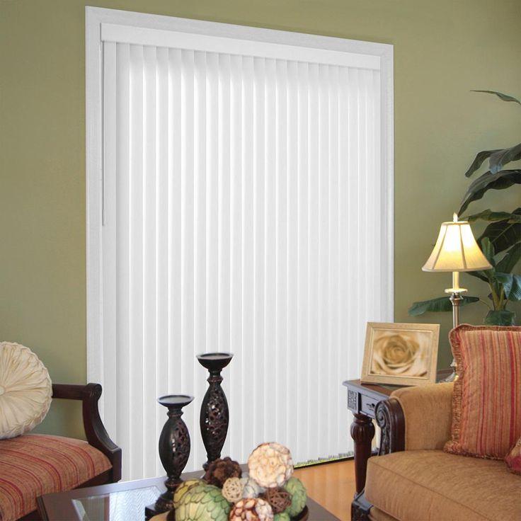 Hampton Bay Canvas Pearl White 3.5 in. PVC Louver Set - 80.5 in. L x 3.5 in. W (9-Pack)