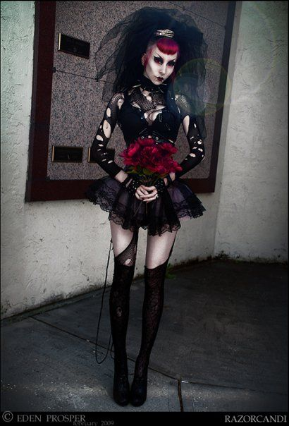 Gothic fetish costumes