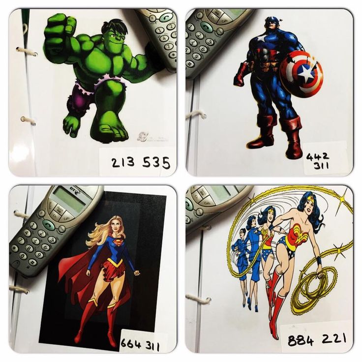 Abc does superhero phone book idea