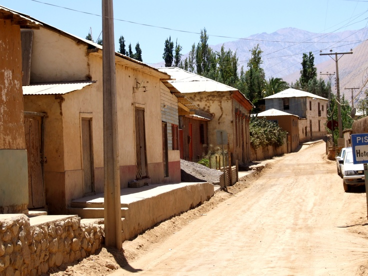 Pueblo de Pisco, Valle del Elqui, Chile
