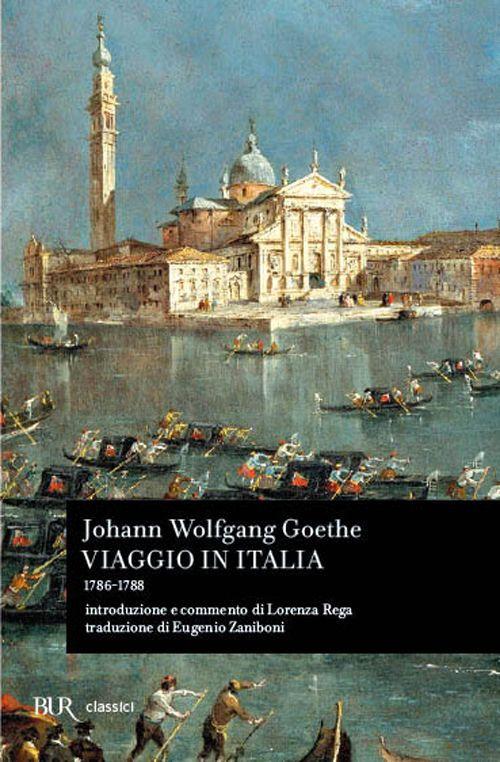 Libro Viaggio in Italia (1786-1788) J. Wolfgang Goethe