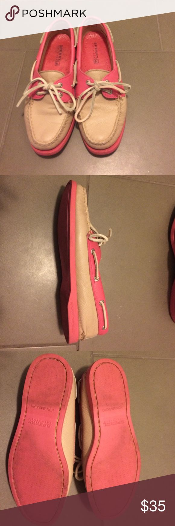 Sperry Top-Sider Women's Loafers Incredibly comfortable Sperry Top-sider loafer style boat shoes. Gently worn; in very good condition. Sperry Shoes Flats & Loafers