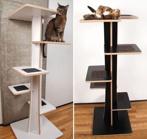 Eco-friendly Baobab Climbing Tree From Square Cat Habitat