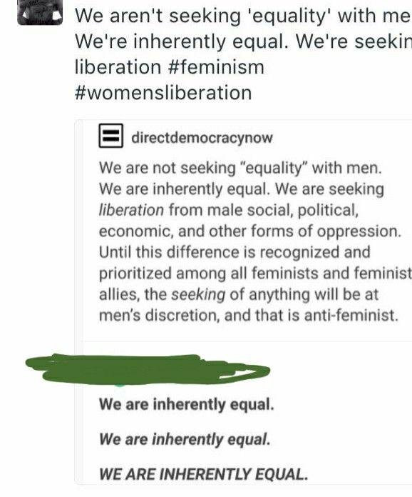 (notitle) – Feminismus