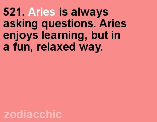 ZodiacChic Post:Aries