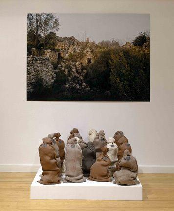 mervat essa.  Arte Palestina En la colección del Museo de Arte Farhat | Palestina Arte الفن الفلسطيني | Farhat Art Museum Collection مجموعة متحف فرحات